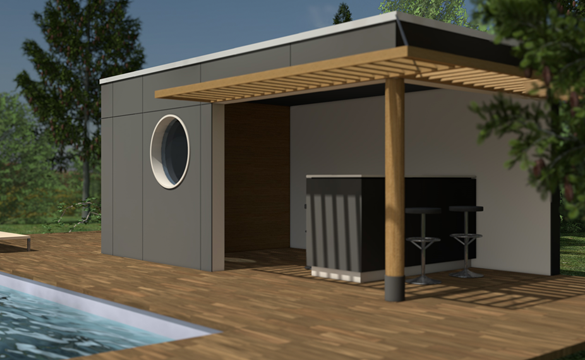 Pool House Kit Contemporary - Joshkrajcik.us - joshkrajcik.us