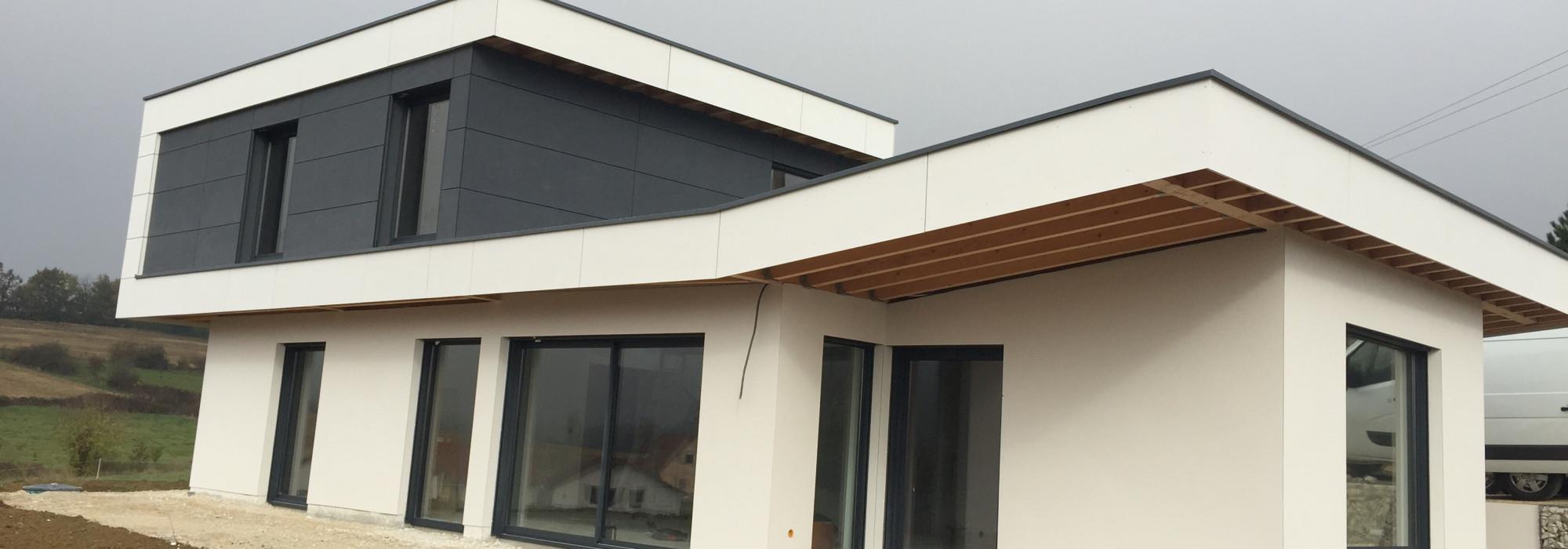 Bardage compact ou plaque bois et passion for Plaque garage w
